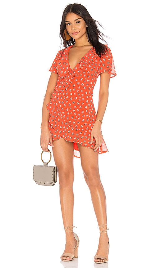 BEACH RIOT Summer Dress in Burnt Orange