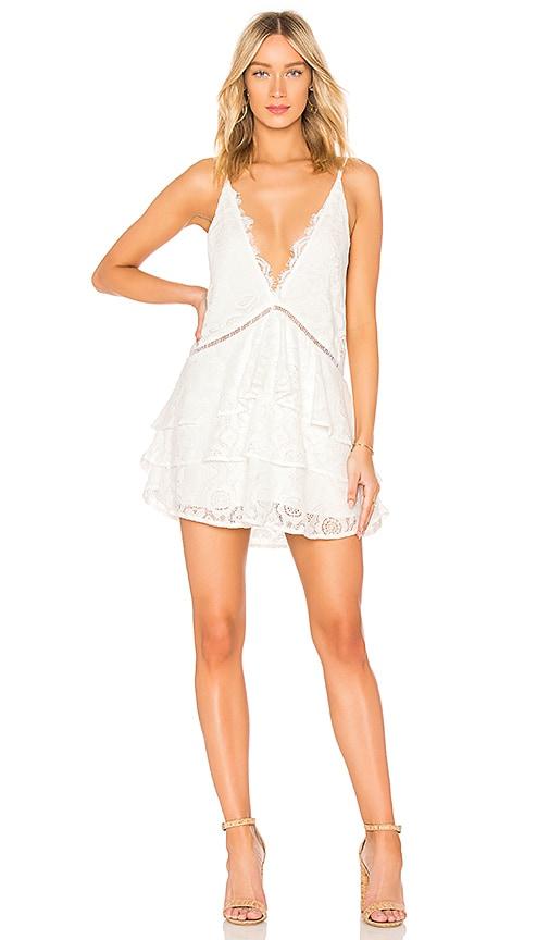BEACH RIOT Maya Dress in White