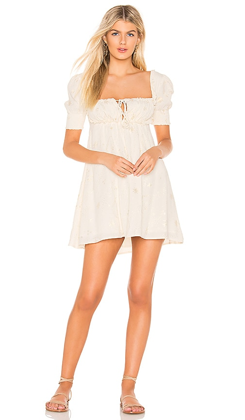 e5e673382dcc BEACH RIOT Virgo Dress in Ivory | REVOLVE