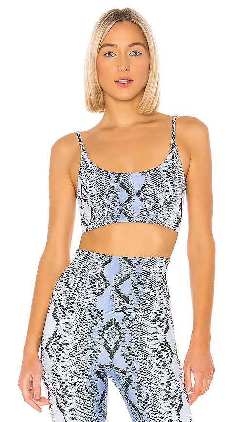 Snake Crop Top by BEACH RIOT, available on revolve.com for $84 Abbey Clancy Top SIMILAR PRODUCT