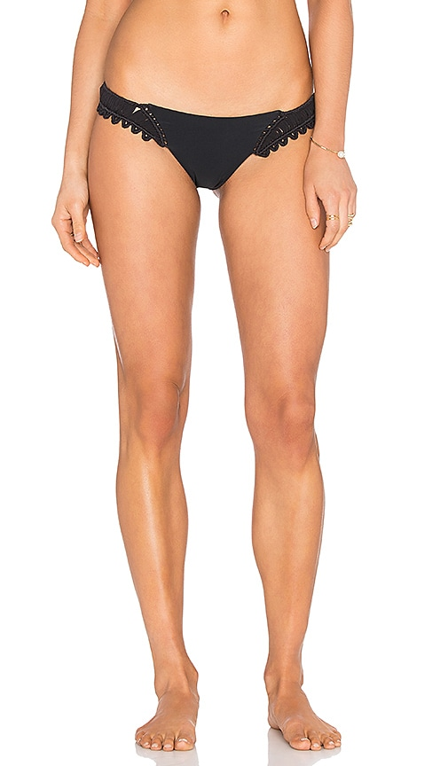 BEACH RIOT Yuma Bikini Bottom in Black