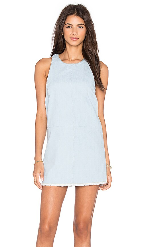 BEACH RIOT Poppy Dress in Blue