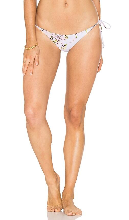 BEACH RIOT Savannah Bikini Bottom in White