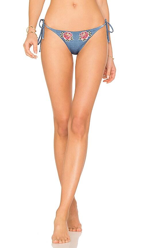 BEACH RIOT X REVOLVE Nikki Bikini Bottom in Blue
