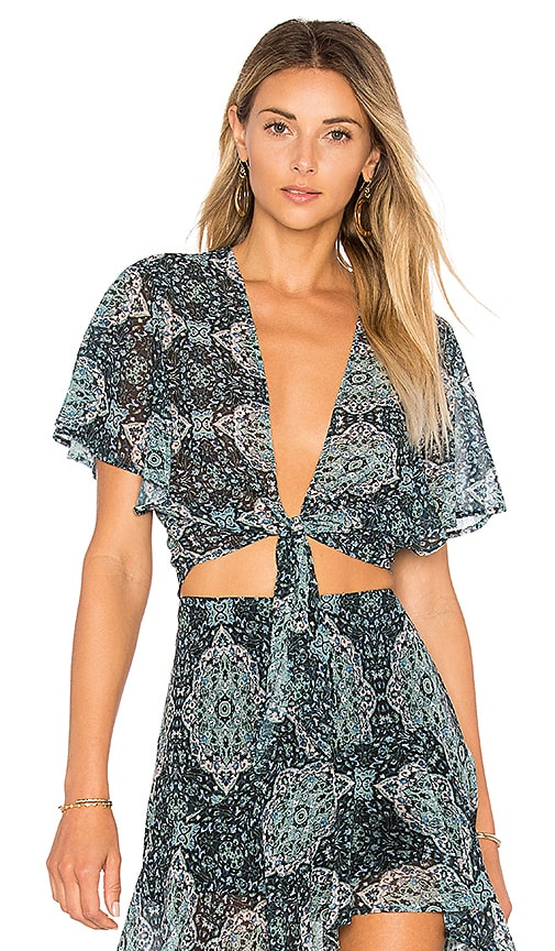 BEACH RIOT X REVOLVE Laurel Top in Teal