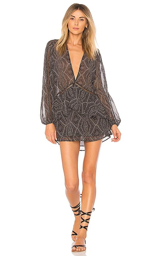 BEACH RIOT Caitlin Dress in Black