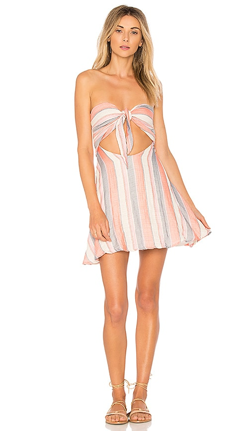 BEACH RIOT Taylor Dress in Pink