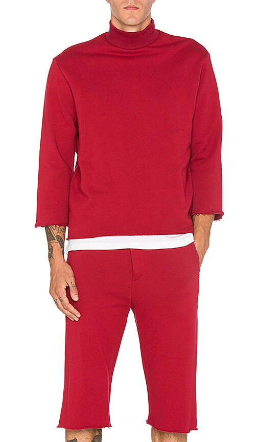 Bristol Memorial Pullover in Red