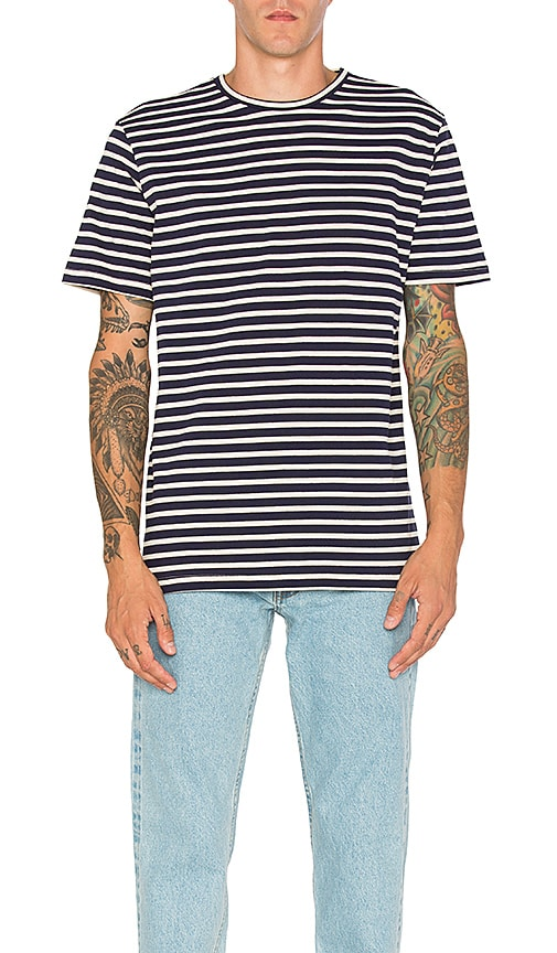 Bristol Waldo Tee in Navy