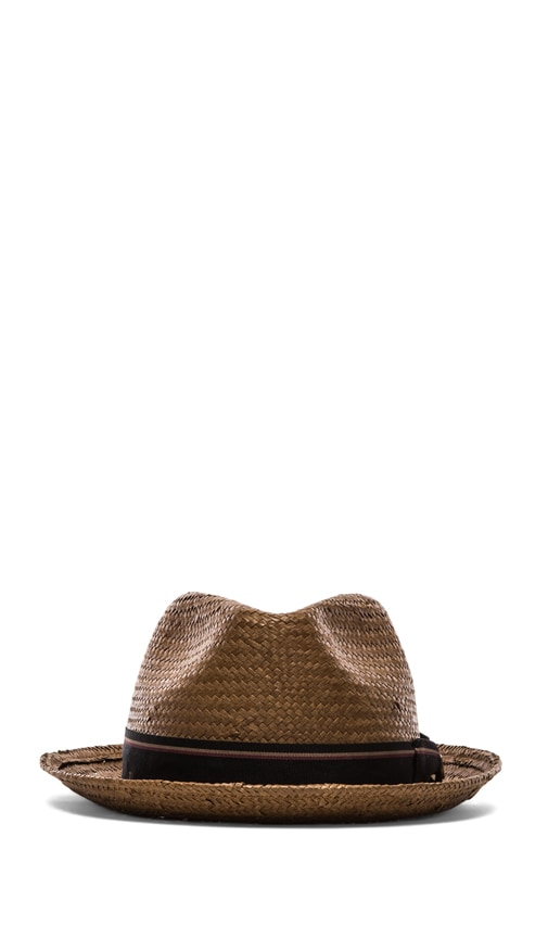 Castor Brown Straw Hat