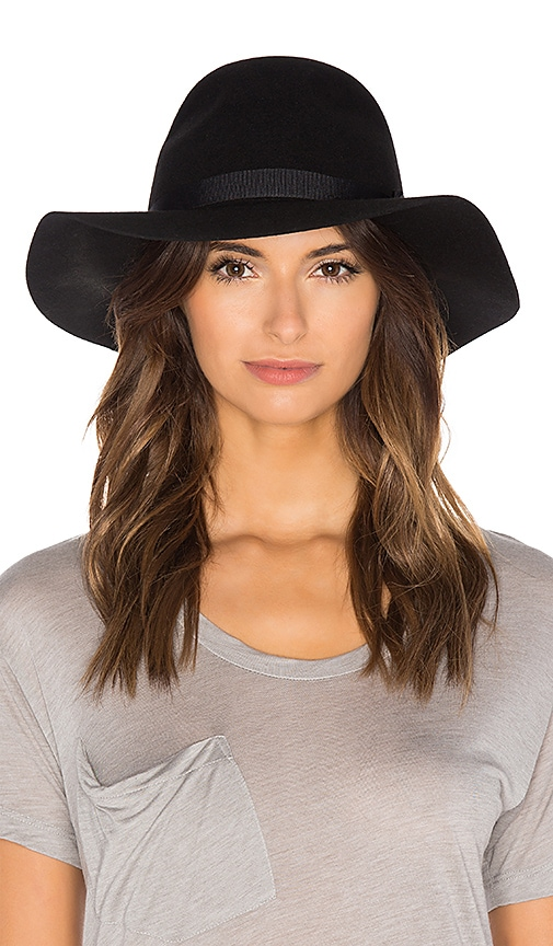 Brixton Dalila Hat in Black   Black  b16eb605c3b