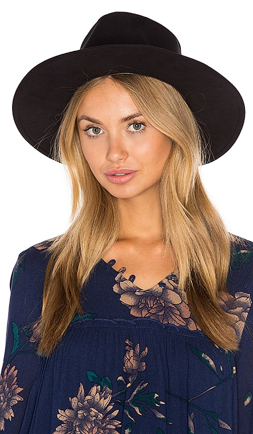 Brixton Thorpe Fedora in Black