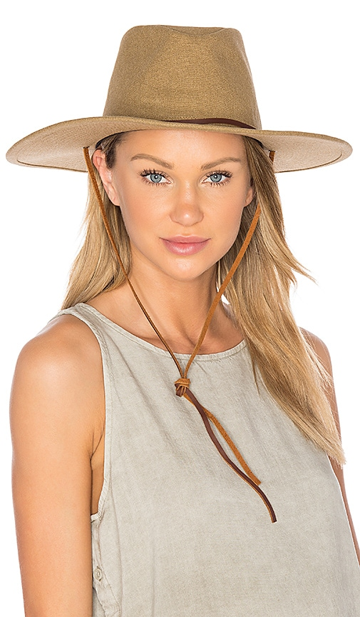 Brixton Ranger II Hat in Tan