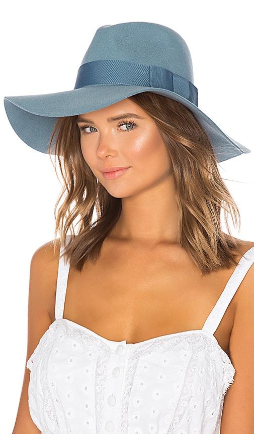 d8a301ca6acfc Brixton Piper Hat in Smoke Blue