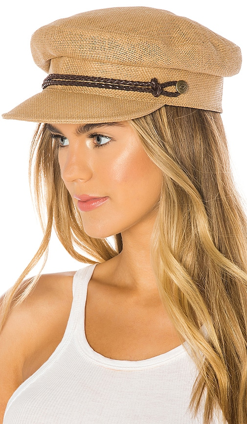 Kayla Straw Hat in Tan. - size XS (also in M,S) Brixton