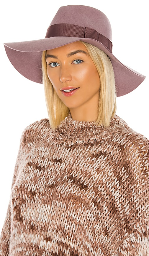Brixton Piper Hat in Mauve | REVOLVE