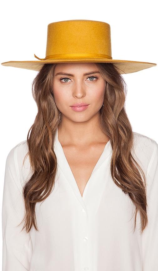 Brixton Ally Hat in Mustard  8f0c89c326d
