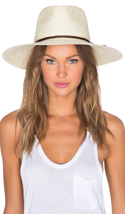 Brixton Bristol Hat in Cream   Brown  06d7c962ab54