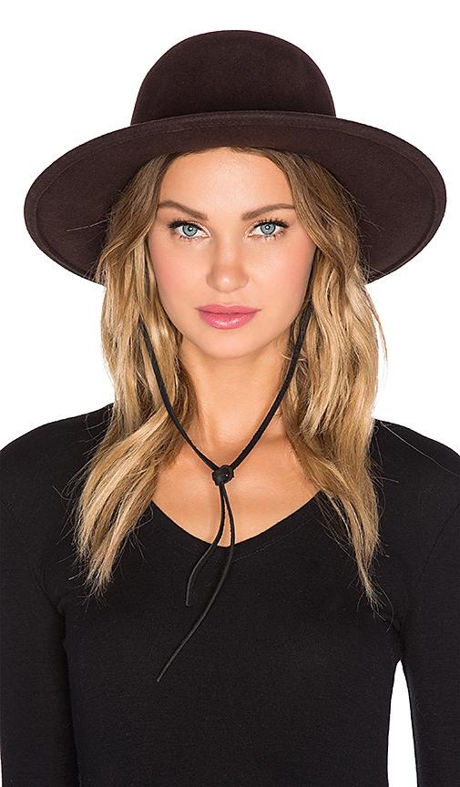 e13fd44194d091 Brixton Clay Hat in Chestnut | REVOLVE