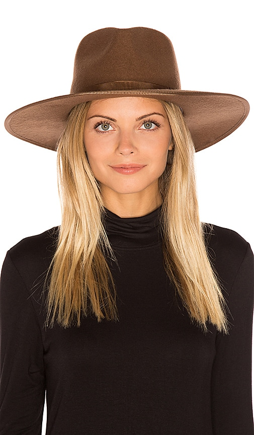 Brixton Homestead Fedora in Tan   Bronze  018d124611b
