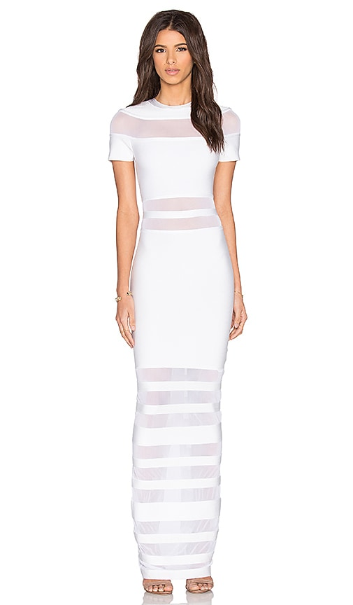 Bronx and Banco Berlin Gown in White