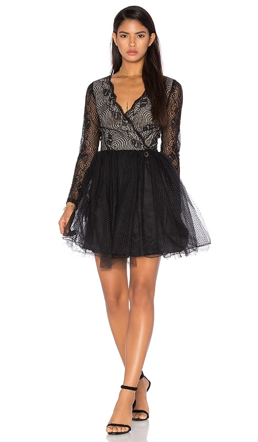 Bronx and Banco Parisian Dress in Black