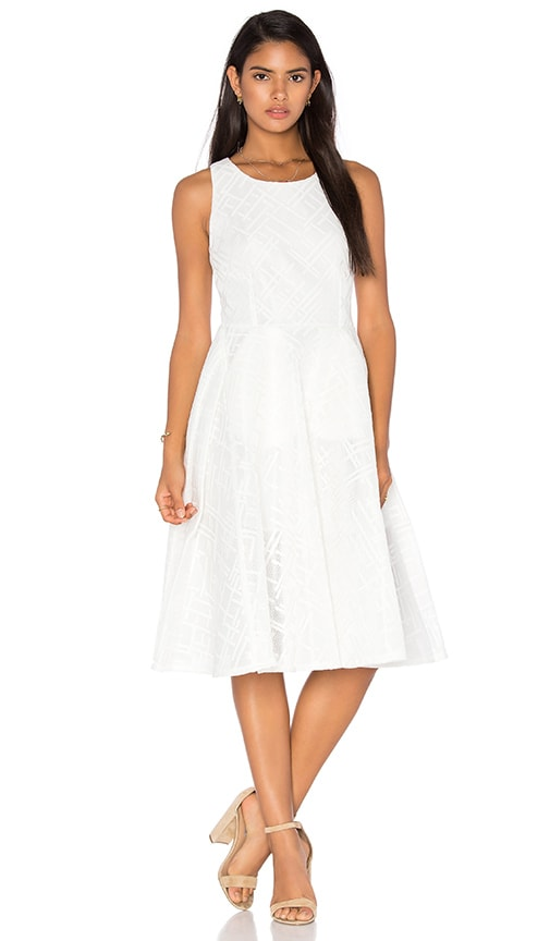 Le Blanc Dress in Ivory Bronx and Banco For Sale The Cheapest Visit New Sale Online ryfkb