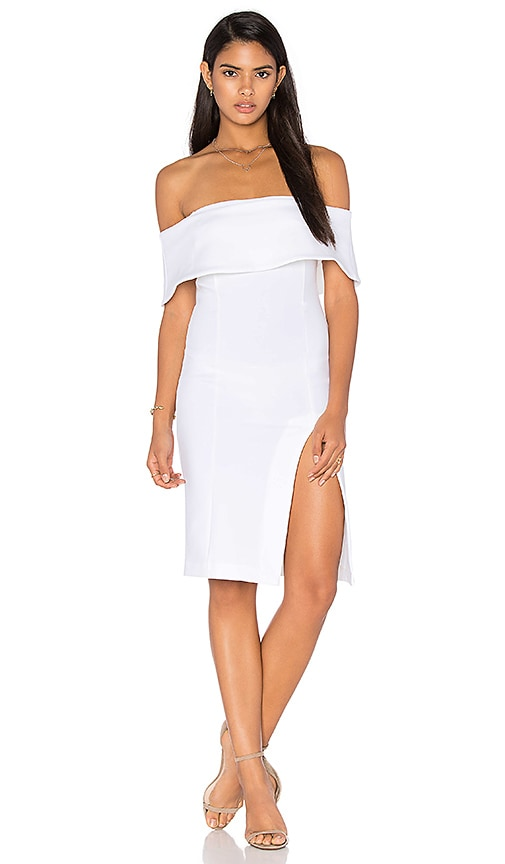Bronx and Banco Montreal Dress in Ivory