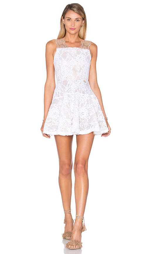 Bronx and Banco Bella Dress in White
