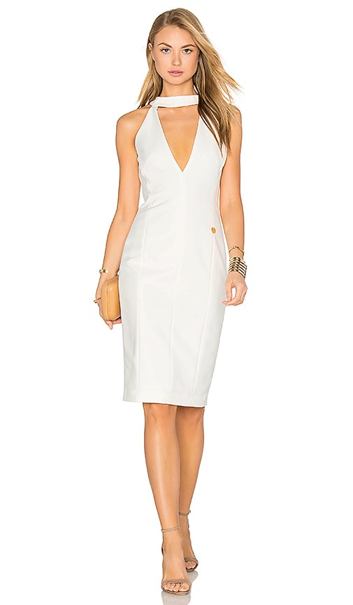 Bronx and Banco Loulou Dress in White