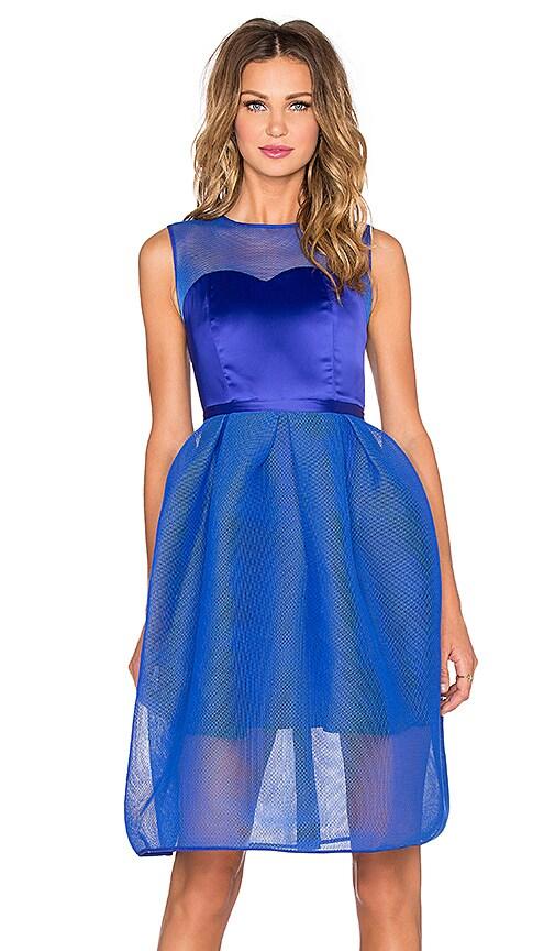 Bronx and Banco Babylon Corset Mini Dress in Electric Blue