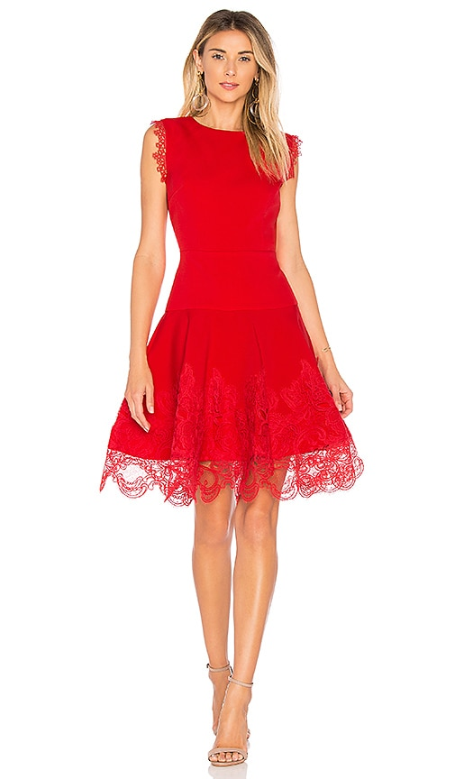 Bronx and Banco Antonia Red Dress in Red