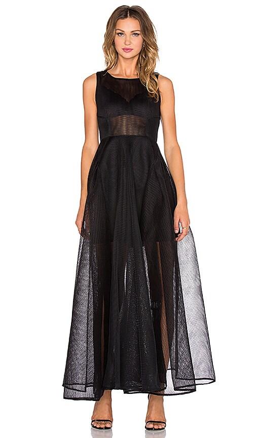 Bronx and Banco Babylon Maxi Dress in Black