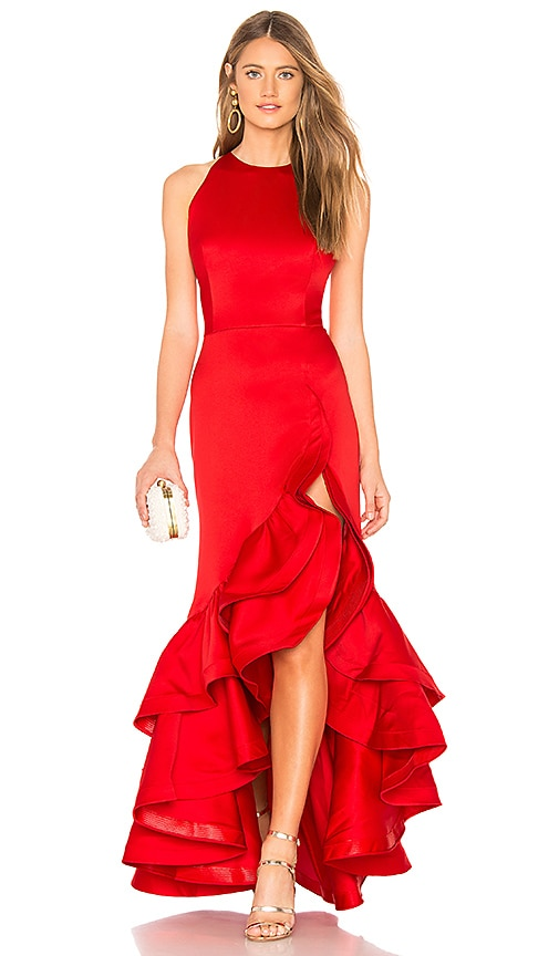 Frida Flame Gown