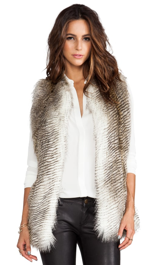 Wendy Faux Fur Vest