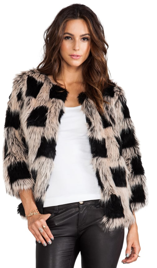 Ischia Faux Fur Jacket