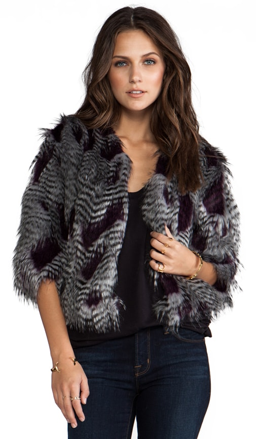 Jennie Faux Fur Jacket