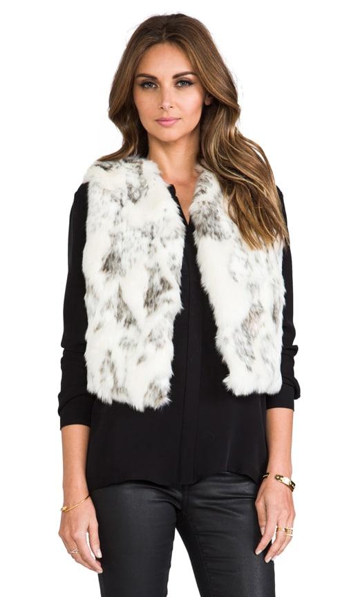 Lila Faux Fur Vest