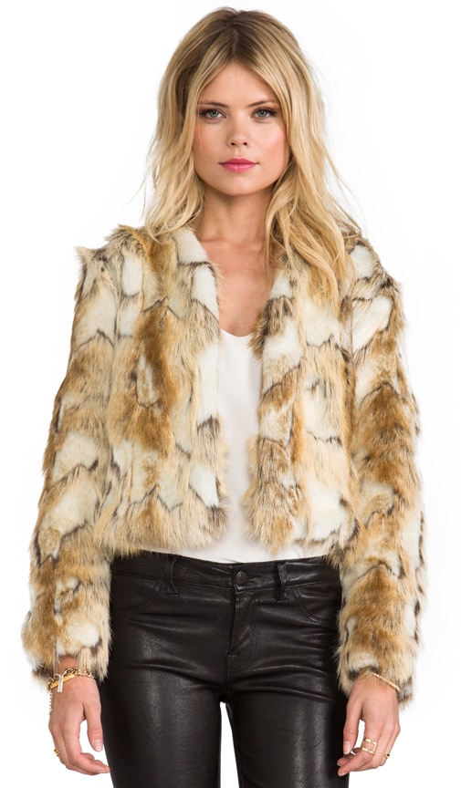Olivia Faux Fur Jacket