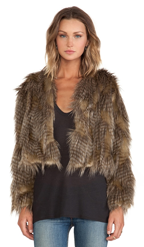 Lauren Faux Fur Jacket