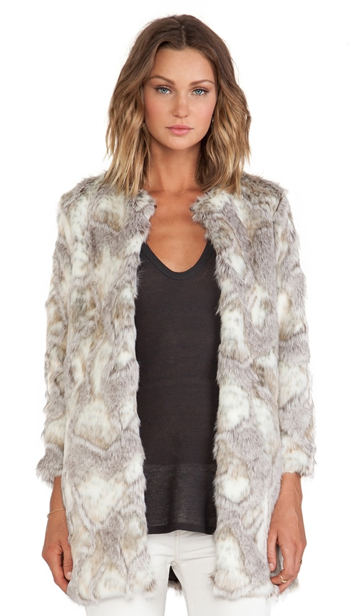 Stella Faux Fur Jacket