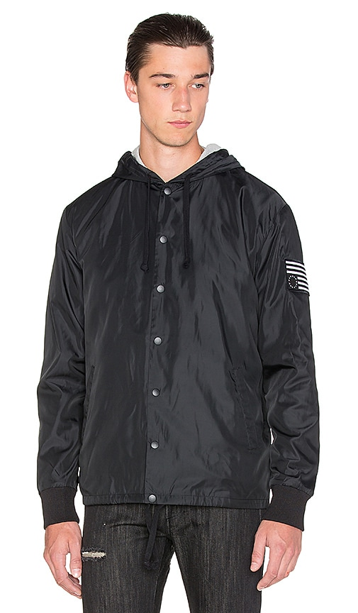 Black Scale Urbina Jacket in Black