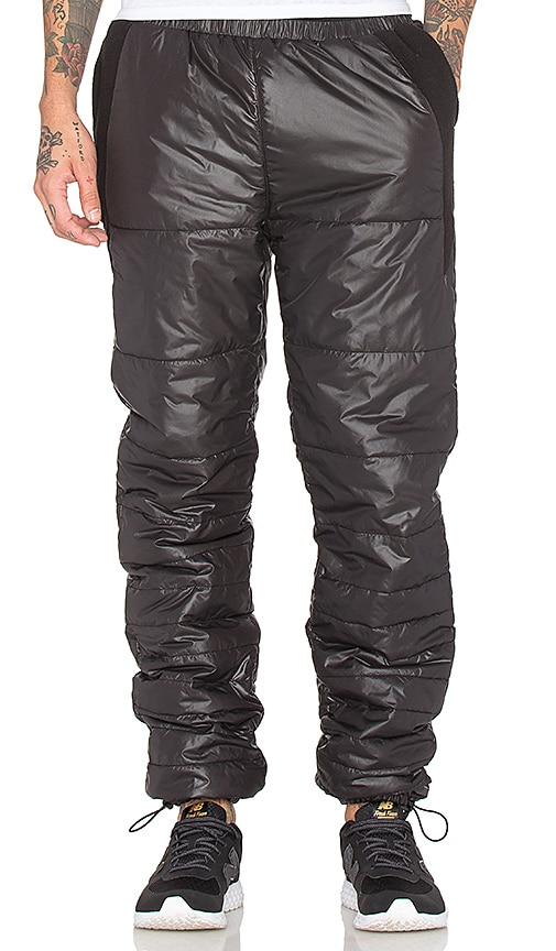 Black Scale Stevenson Pants in Black