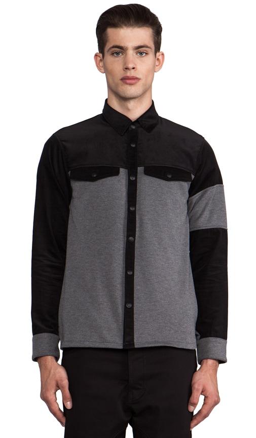 Combo Shirt Jacket