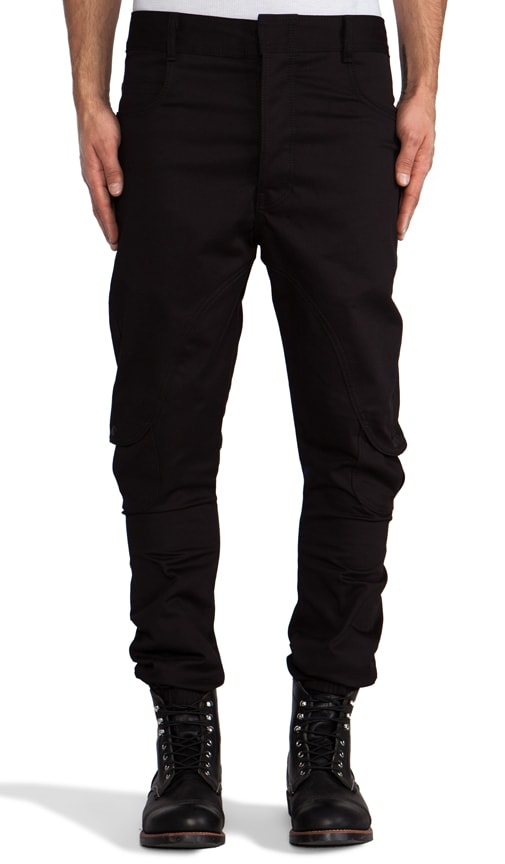 Drop Crotch Cargo Pant