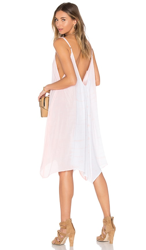 Bettinis Scallop Maxi Dress in Peach