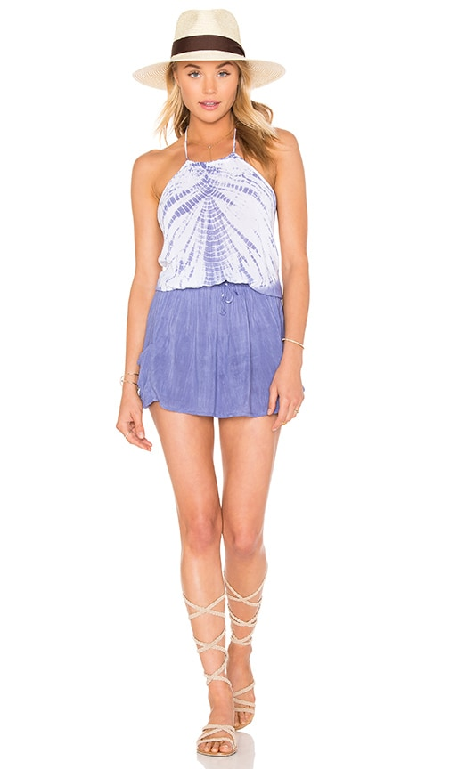 Bettinis Apron Dress in Blue