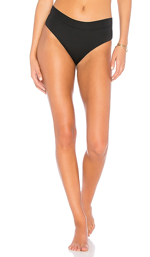 Bettinis Fold Over Bottoms in Black