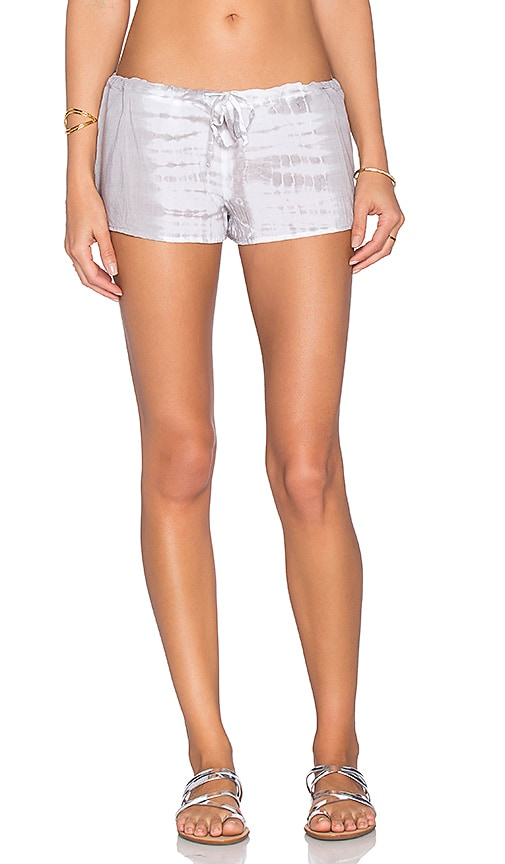 Bettinis Dip Dye Short in Gray