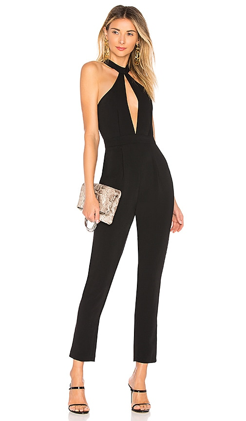 Willow Cut Out Jumpsuit in Black. - size L (also in M,S,XL,XS,XXS) by the way.